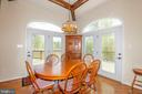 Breakfast Room with Outdoor Access - 6505 MATTHEW LN, MINERAL