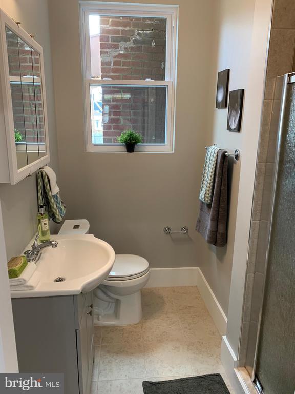 Main Level Full Bath - 3112 ALABAMA AVE SE, WASHINGTON