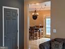 Living Room to Kitchen - 9301 OLD SCAGGSVILLE RD, LAUREL