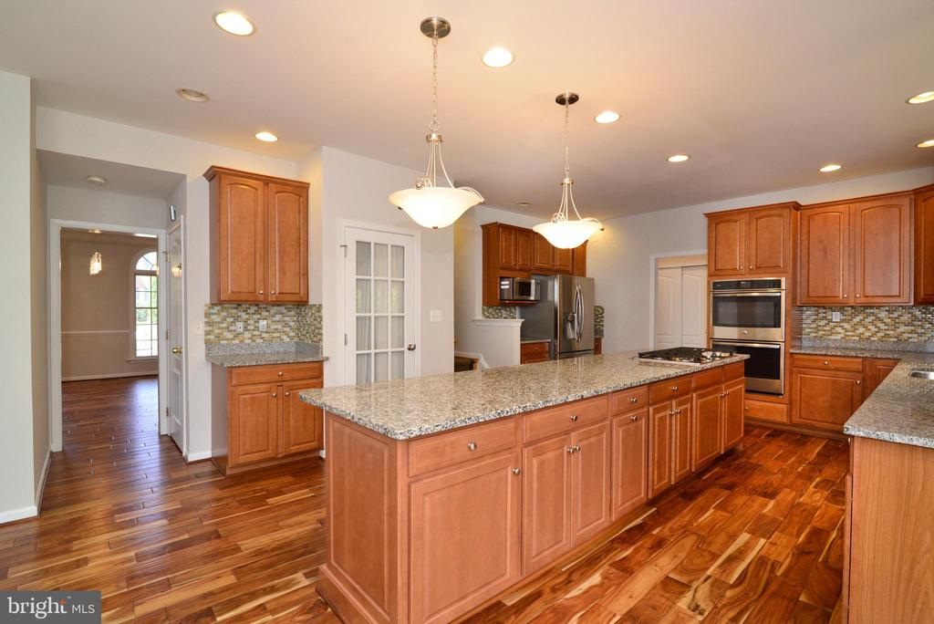 lots of recessed lights throughout - 13247 MIDDLETON FARM LN, HERNDON