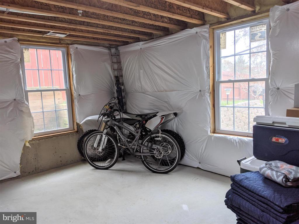 Unfinished Basement w/Plenty of Space for 5th Bedr - 9301 OLD SCAGGSVILLE RD, LAUREL