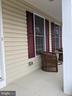 Lovely front porch - 9301 OLD SCAGGSVILLE RD, LAUREL