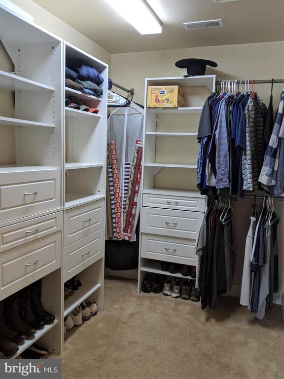 Master Bedroom Walk-in Closet - 9301 OLD SCAGGSVILLE RD, LAUREL