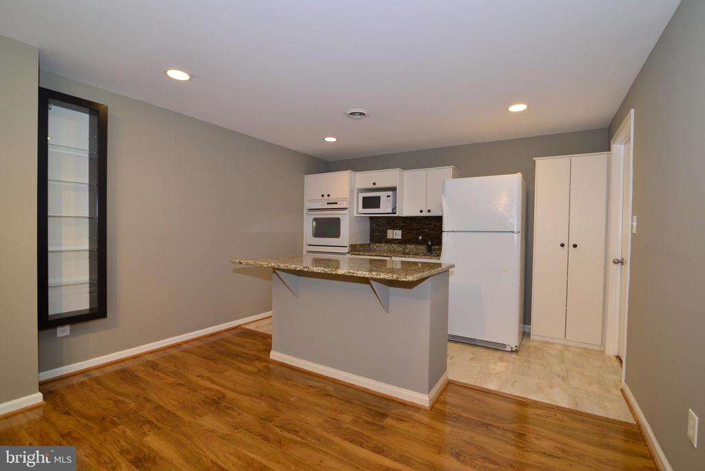 2nd Kitchen with granite island - 13247 MIDDLETON FARM LN, HERNDON