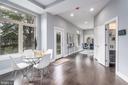 Breakfast Space of the kitchen - 5700 BLAIR RD NE, WASHINGTON