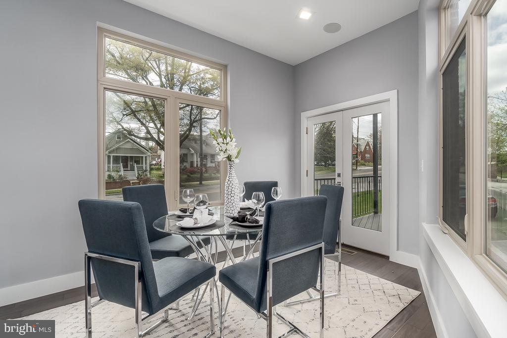 Dining room - 5700 BLAIR RD NE, WASHINGTON