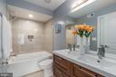 Bathroom 1 on the first floor - 5700 BLAIR RD NE, WASHINGTON