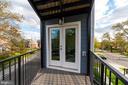 Second Patio on the second floor - 5700 BLAIR RD NE, WASHINGTON