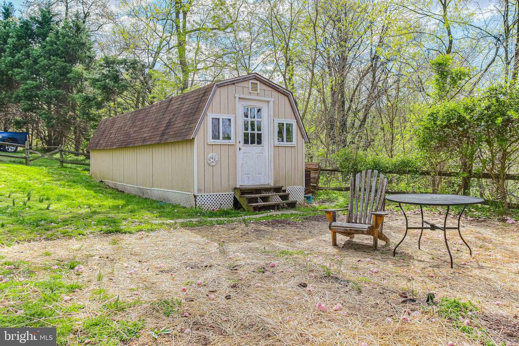 Exterior Rear Shed - 19126 SANDYHOOK RD, KNOXVILLE