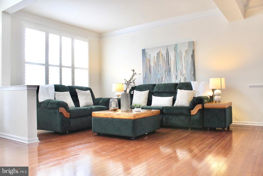 Open floor plan -high ceilings - 4025 BRIDLE RIDGE RD, UPPER MARLBORO