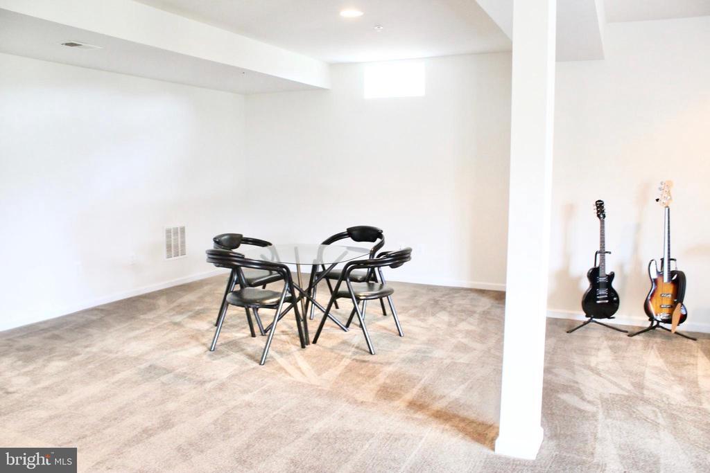 Huge finished basement perfect for entertaining - 4025 BRIDLE RIDGE RD, UPPER MARLBORO