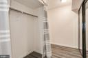 Large entry closet - 1001 N VERMONT ST #310, ARLINGTON