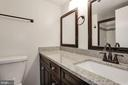Master bathroom with tile shower - 1001 N VERMONT ST #310, ARLINGTON