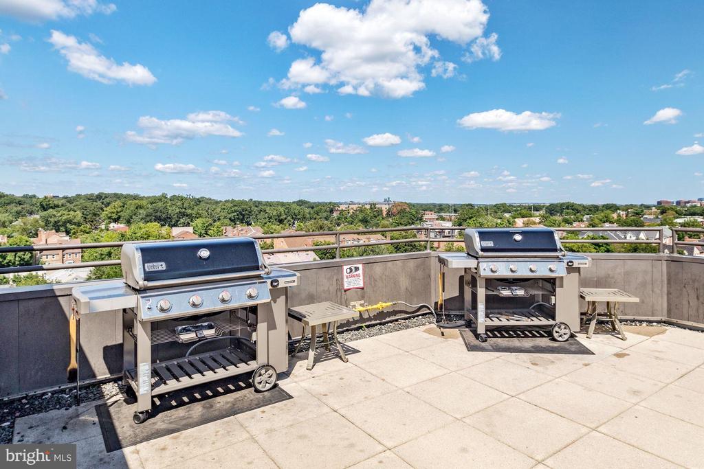 Two weber grills - 1001 N VERMONT ST #310, ARLINGTON