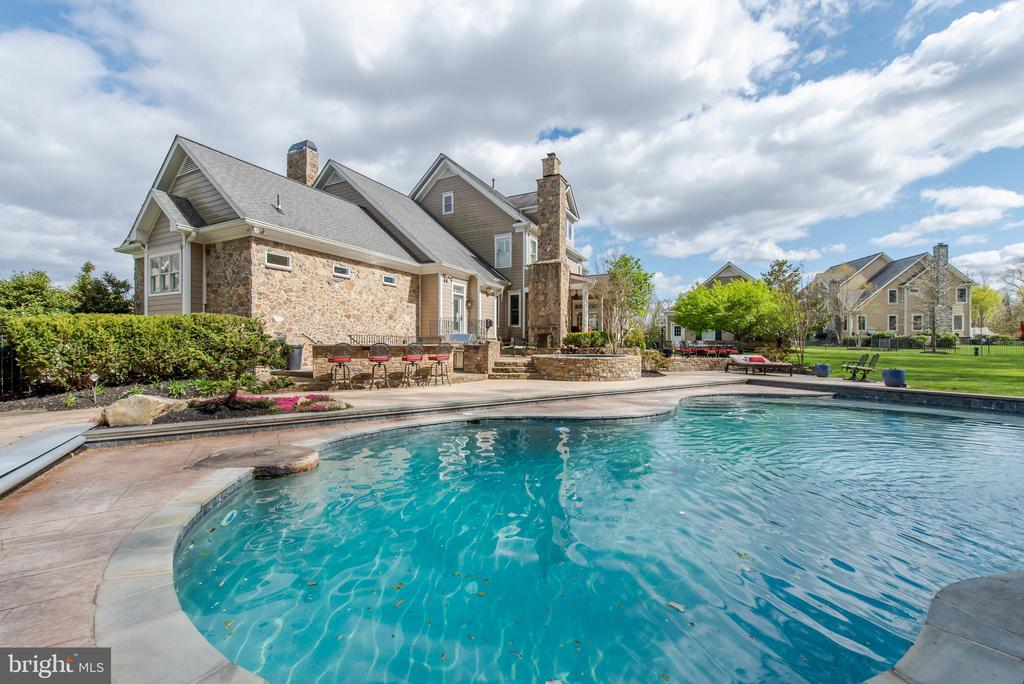 Saltwater Pool and Exterior - 5222 SWEET MEADOW LN, CLARKSVILLE