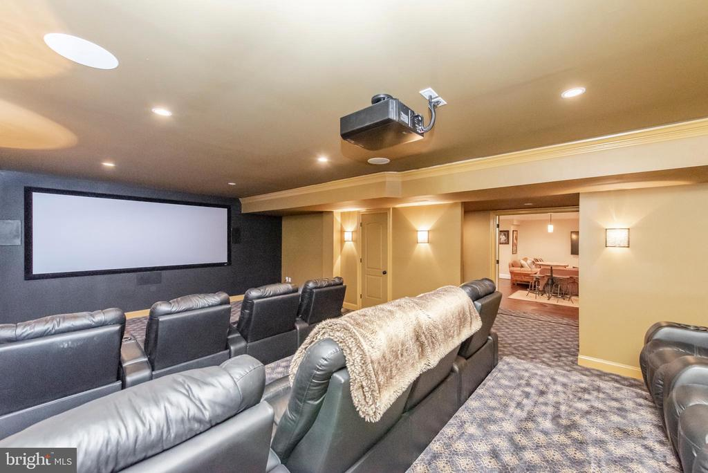 Theater Room - 5222 SWEET MEADOW LN, CLARKSVILLE