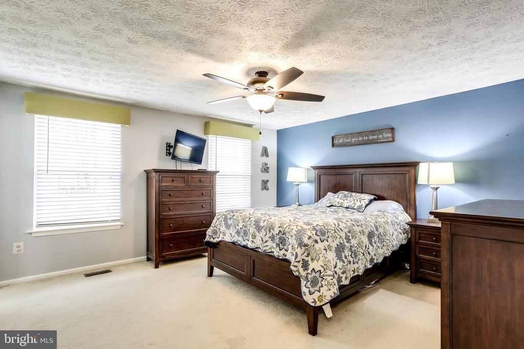 Freshly Painted Master Bedroom - 7924 BUTTERFIELD DR, ELKRIDGE