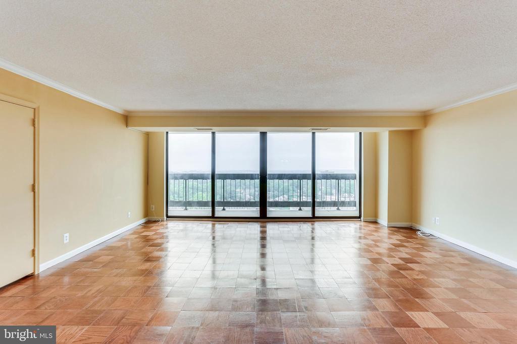 Huge Living Room With DC Views - 3800 FAIRFAX DR #1512, ARLINGTON