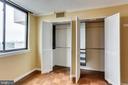 Built Ins In Bedroom Closet - 3800 FAIRFAX DR #1512, ARLINGTON