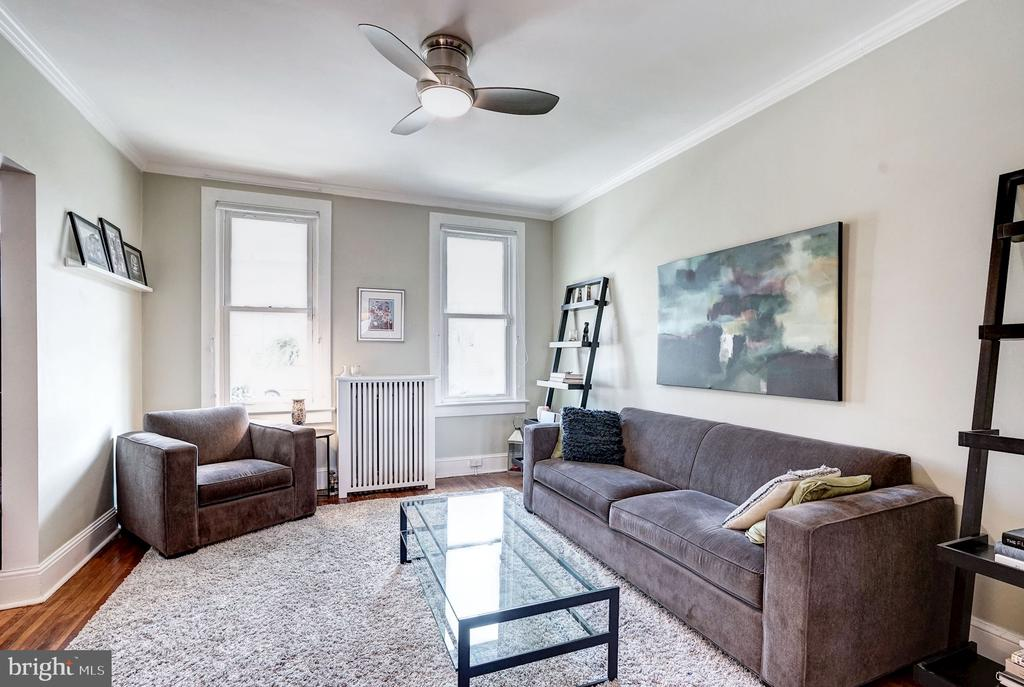 Radiant heat and CAC. - 4604 9TH ST NW, WASHINGTON