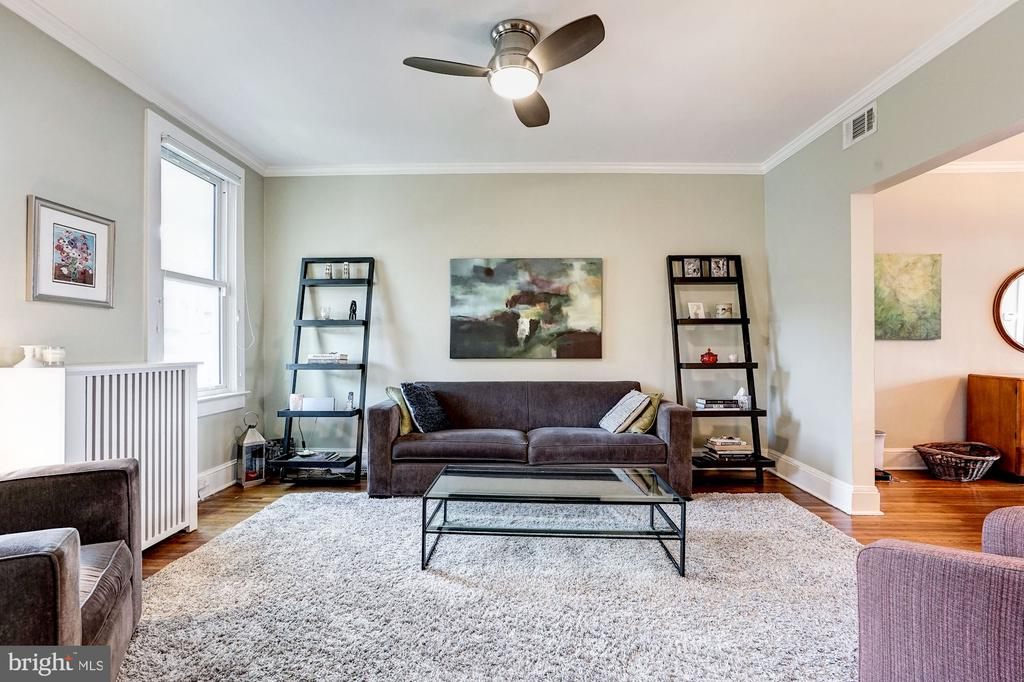 Purposeful updates while keeping original feel. - 4604 9TH ST NW, WASHINGTON