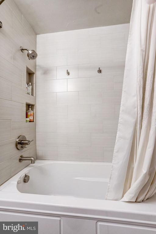 And a large soaking tub. - 4604 9TH ST NW, WASHINGTON