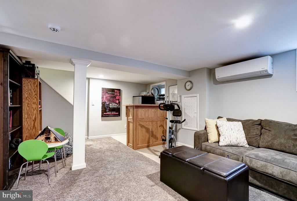Works great as tv or play room. - 4604 9TH ST NW, WASHINGTON