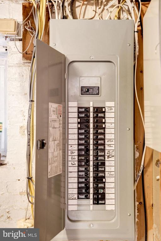 Heavy up to 200 amp service in 2018. - 4604 9TH ST NW, WASHINGTON