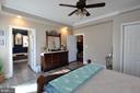 Main Level Master Bedroom - 10636 CATHARPIN RD, SPOTSYLVANIA