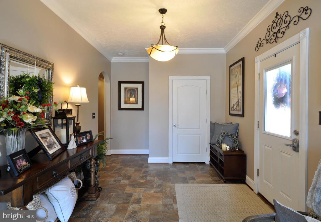 Side Entry/Foyer - 10636 CATHARPIN RD, SPOTSYLVANIA