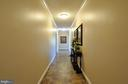 Hallway on Right Wing of Home - 10636 CATHARPIN RD, SPOTSYLVANIA