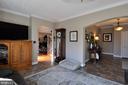 Living Room - Side Foyer - 10636 CATHARPIN RD, SPOTSYLVANIA