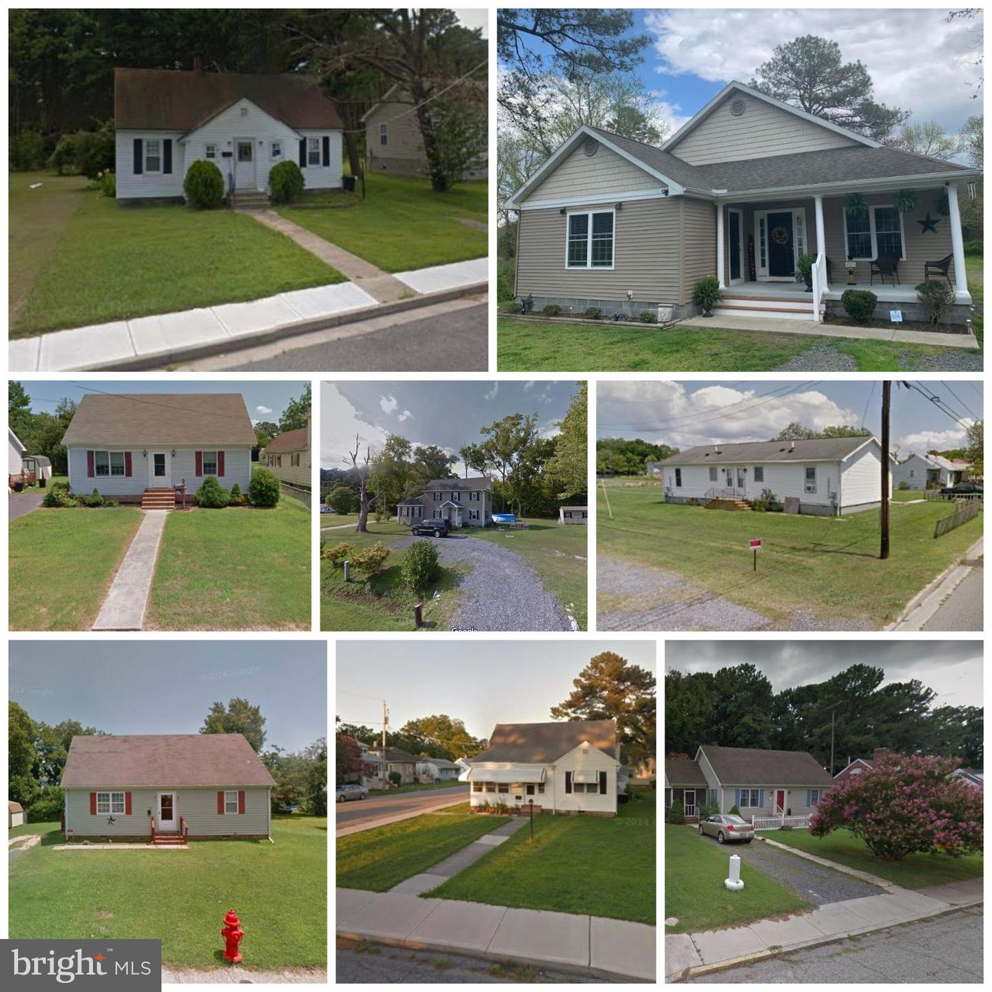 Single Family Homes for Sale at Crisfield, Maryland 21817 United States