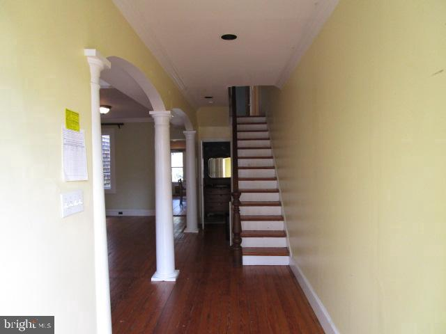 Entrance and stairs - 146 PRINCE GEORGE ST, ANNAPOLIS