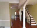 Entrance hallway - 146 PRINCE GEORGE ST, ANNAPOLIS