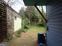 rear yard - 146 PRINCE GEORGE ST, ANNAPOLIS