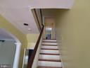 stairs to second floor - 146 PRINCE GEORGE ST, ANNAPOLIS