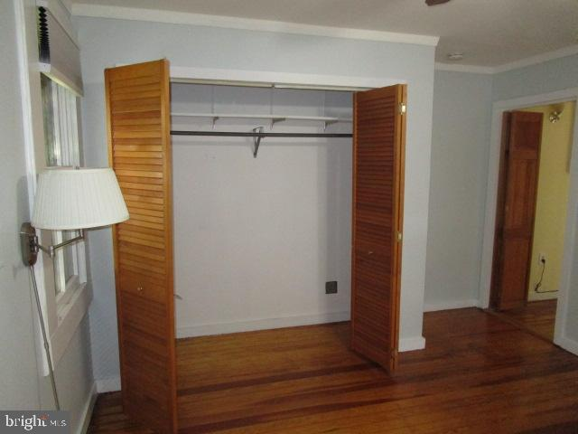 closet in bedroom - 146 PRINCE GEORGE ST, ANNAPOLIS