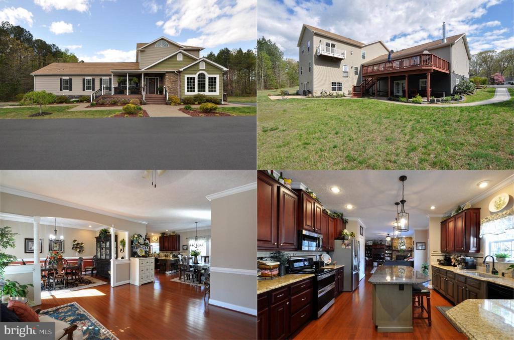 Spectacular  7 BR, 5.5 BA home on 3 private acres! - 10636 CATHARPIN RD, SPOTSYLVANIA