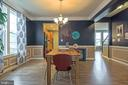 Custom molding in dining room - 102 ALMOND DR, STAFFORD