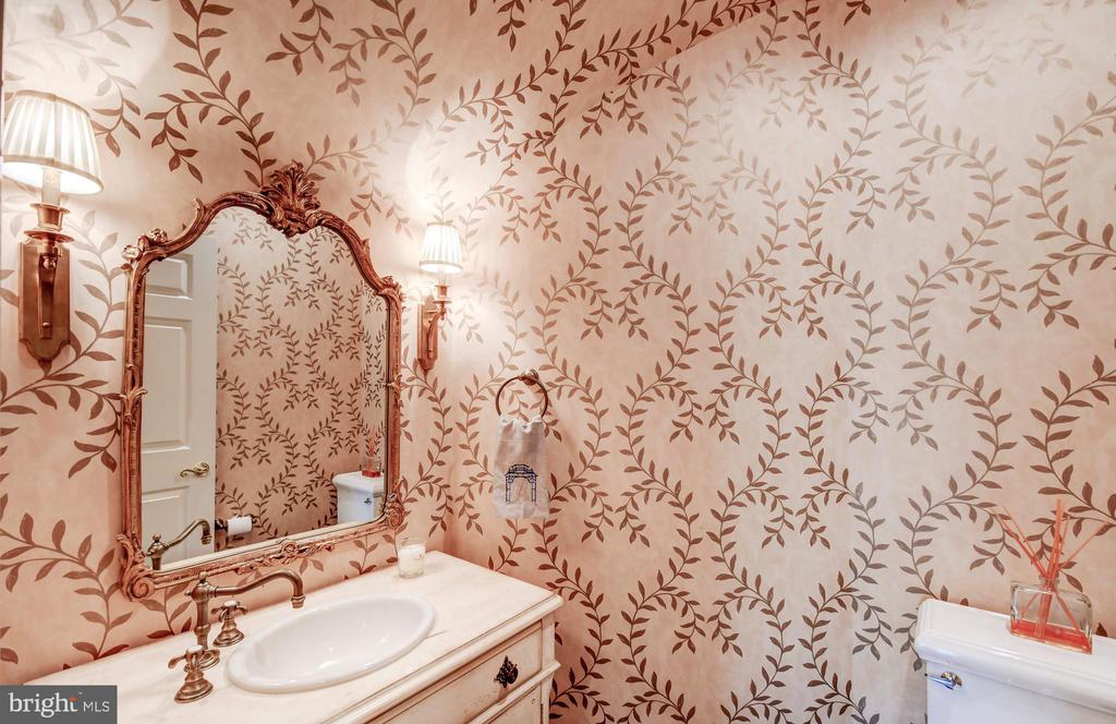 Powder Room - 10807 GREENSPRING AVE, LUTHERVILLE TIMONIUM