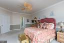 Crown moldings and spacious walk-in closet - 8733 ENDLESS OCEAN WAY #32, COLUMBIA