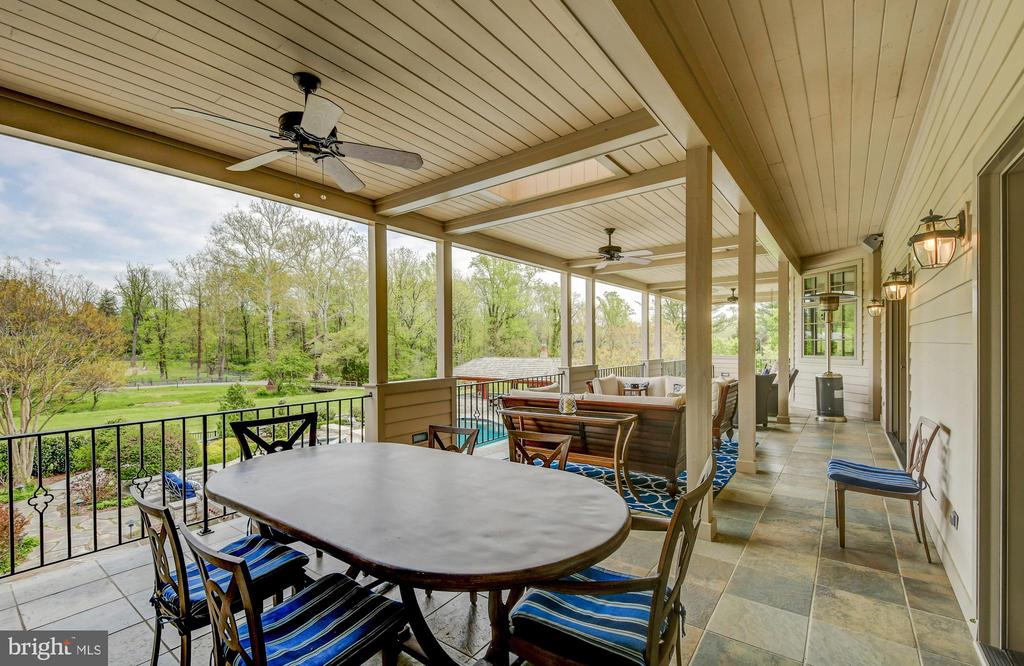 Great Room Covered Porch - 10807 GREENSPRING AVE, LUTHERVILLE TIMONIUM