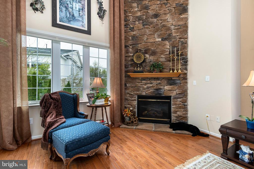 Gorgeous stone fireplace for those chilly evenings - 8733 ENDLESS OCEAN WAY #32, COLUMBIA