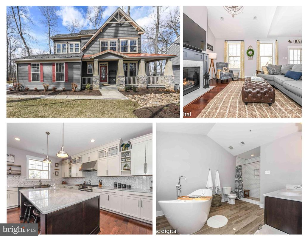 Stunning, built-to-suit Craftmans Home. - 4736 OLD MIDDLETOWN RD, JEFFERSON