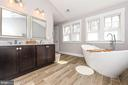 Double vanities. - 4736 OLD MIDDLETOWN RD, JEFFERSON