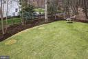 Large Yard - 1936 FRANKLIN AVE, MCLEAN