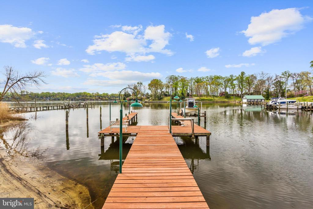 Private Pier - 1128 ASQUITH DR, ARNOLD
