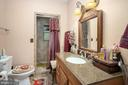 CUSTOM TILED SHOWER IN THIS MASTER BATH! - 34876 PAXSON RD, ROUND HILL
