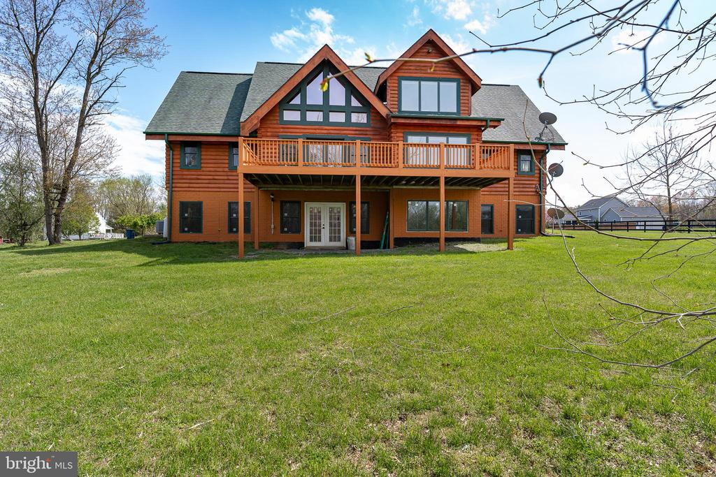 BEAUTIFUL VIEW OF THE BACK OF THE HOME - 34876 PAXSON RD, ROUND HILL